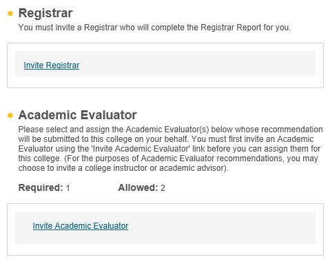 关于网申the common application里registrar和academic evaluator的 ...
