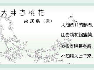 《大林寺桃花》是谁写的?