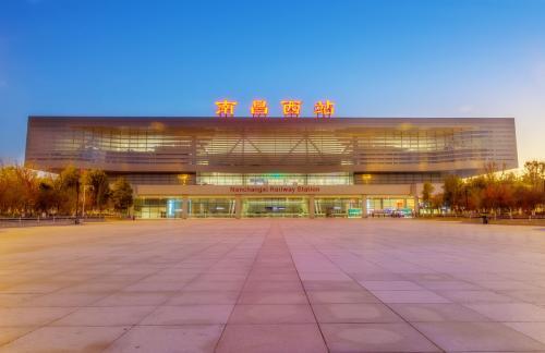 南昌火车站动车站�_南昌西站火车站可以在站内换乘吗?中间只隔了13分钟,动车