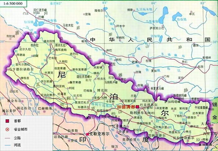 中国海洋边界地图