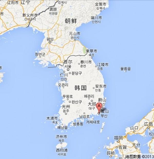 青岛地图的地理位置
