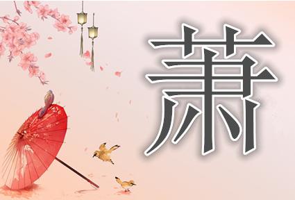 2013年中国姓氏排名_姓氏中萧和肖有什么区别啊_百度知道