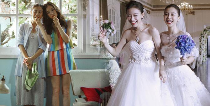 新娘大作战_新娘大作战中倪妮的那件婚纱