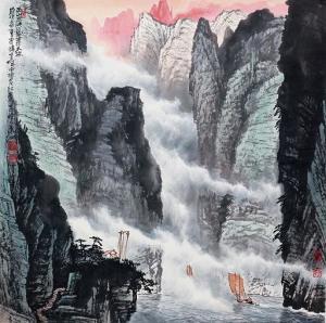 三峡写了山的什么特点