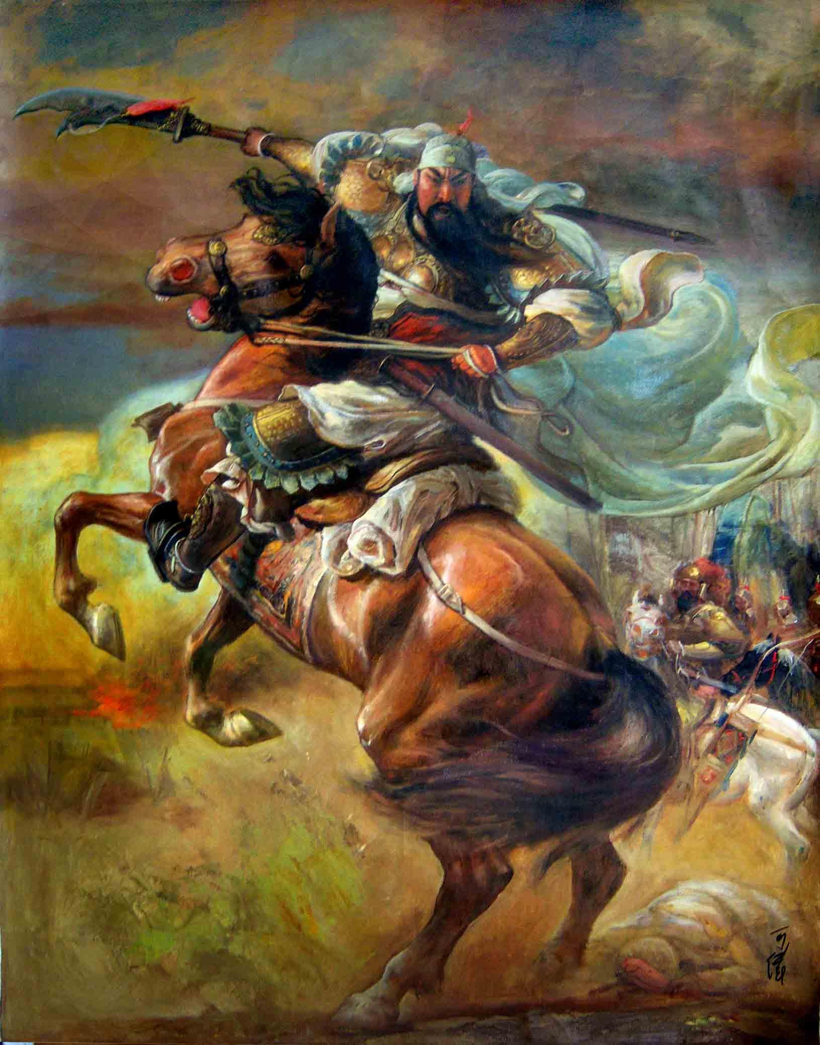 Japanese Generals 我想要一张一名古代将军骑马,马把前踢抬起来的图片要帅一点的,一定是古装,清楚点!跪求啊! 百度知道