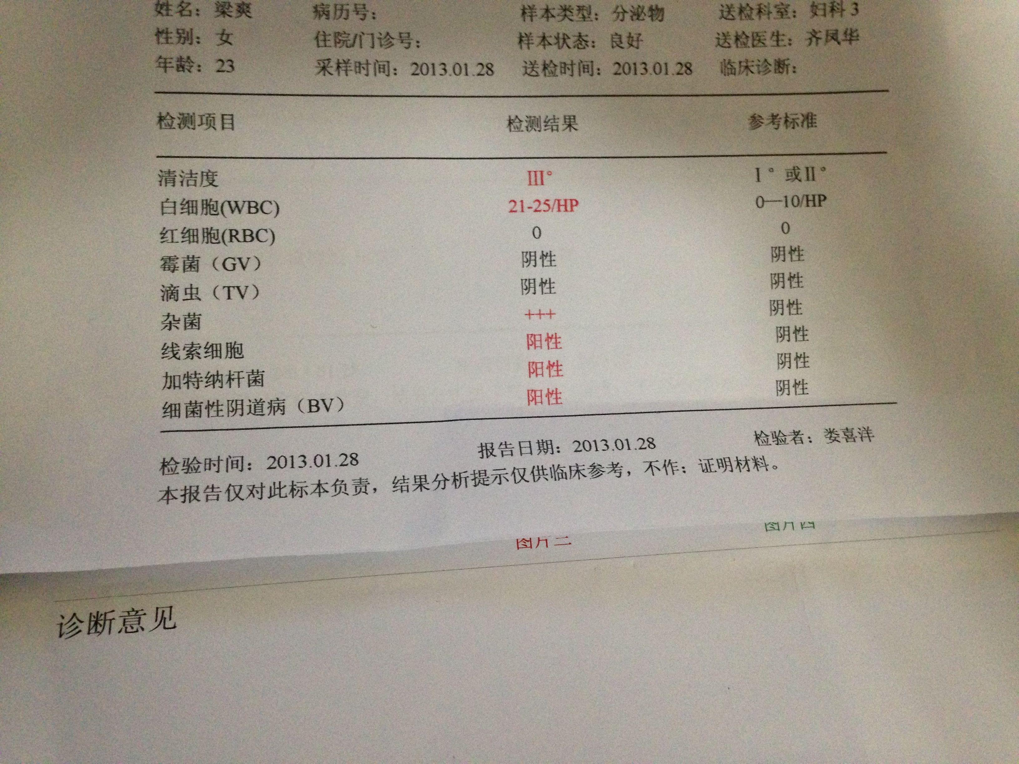 宫颈炎症如何治疗_请问今天去检查妇科 阴道清洁度3度 白细胞21 25 杂菌+++ 线索细胞 ...