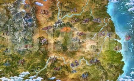 求一张剑三世界地图