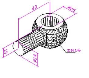 CAD机械制图练习题图片