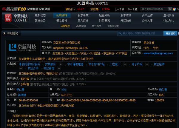 【000711股票】000711股票是不是在熊县白洋淀