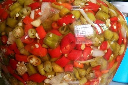 泡辣椒的做法是什么?