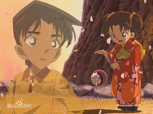 初恋情人回忆_名侦探柯南里有一集是服部平次的初恋女友,是一个小女孩拍 ...