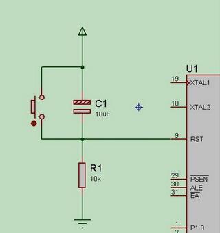 按键复位电路图_复位电路中四个引脚的开关怎么接啊_百度知道