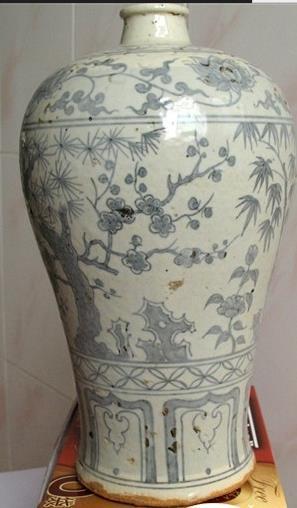 明代青花瓷器的洪武时期