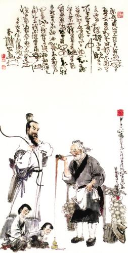 """卖油翁陈尧咨_""""汝亦知射乎,吾射不亦精乎""""这句话的中心意思是什么?_百度知道"""
