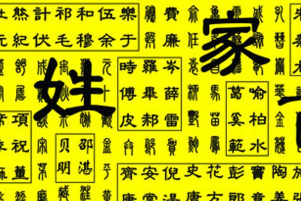 中国姓氏人口排行榜_中国姓氏人口排名有哪些?_百度知道