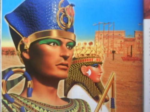 拉美西斯二世和奈菲尔塔利的复原图是什么?