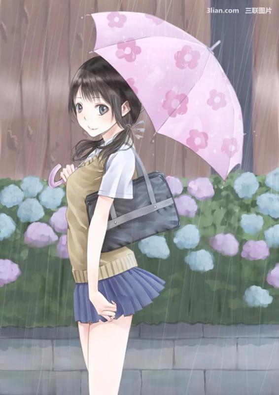 撑伞动漫头像_动漫头像 撑伞在雨中的背影_百度知道