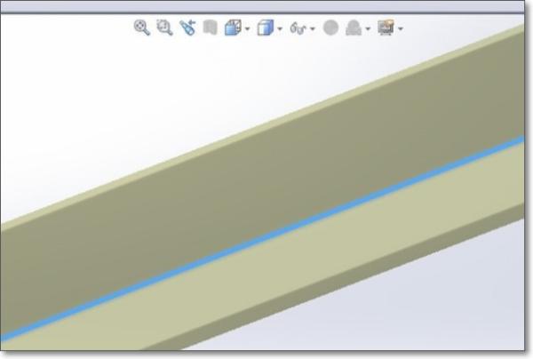 solidworks用3d草图画的型材有一部分重合了怎么办