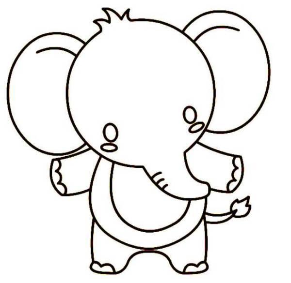 动物简笔画,有没有难一点的 求图