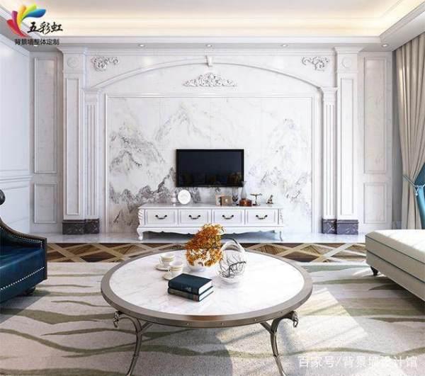 电视背景墙罗马柱尺寸如何讲究?