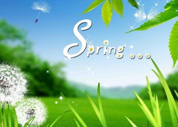 春夏秋冬英文怎么念?