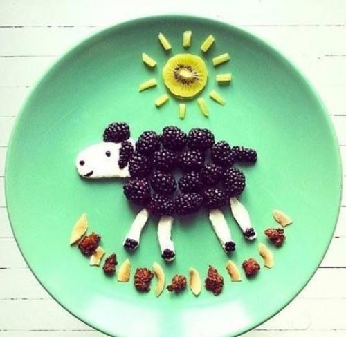 水果动物造型图片简单_动物可爱简单的水果拼盘_百度图片搜索_百度知道