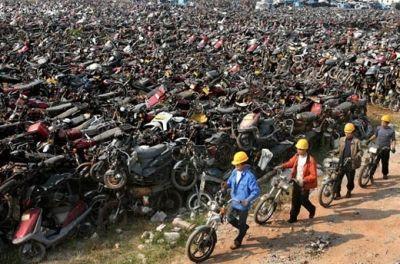 摩托车如何申请报废?
