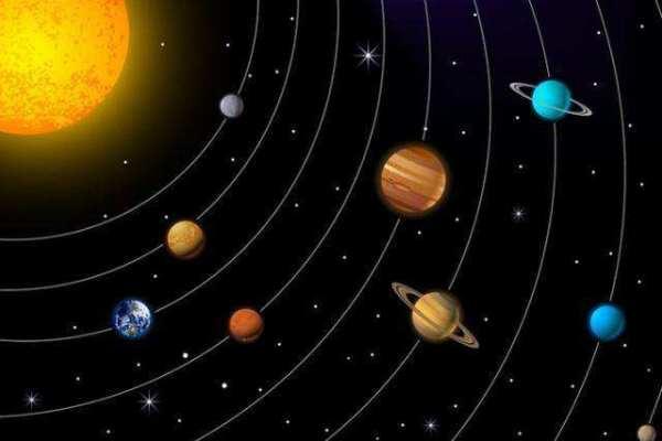 9大行星的颜色