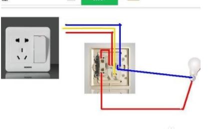 电灯单控开关接线图_一开五孔怎么接线(开关控制电灯)?_百度知道