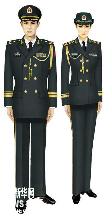 军官夏常服_陆军一年四季的军装图片_百度知道