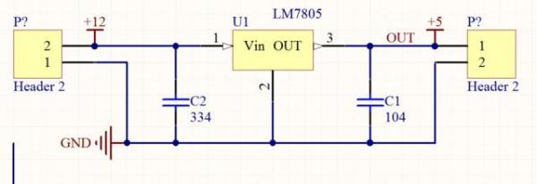 5v控制24v电路_求12V转5V的7805稳压电路图_百度知道