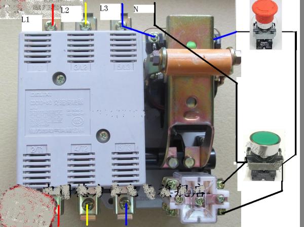 DC10 20交流接触器控制线路接线图图片