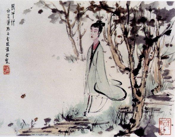 李白的《长干行》的全诗解释。