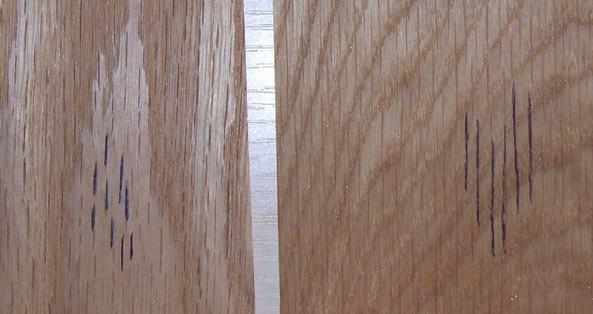 白橡与黄橡颜色区别_如何区别红橡木和白橡木_百度知道