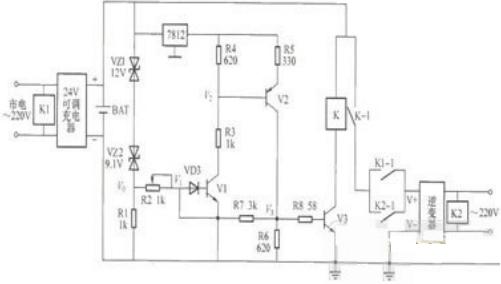 ups电源电路图及其工作原理是怎样的?