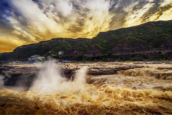 孕育中华文明的黄河_为什么黄河为什么被称为母亲河_百度知道