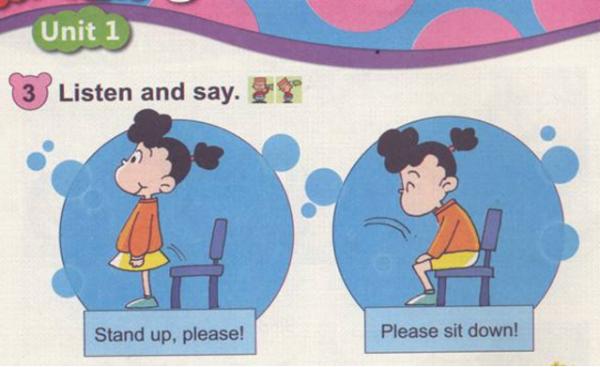 坐下的英语