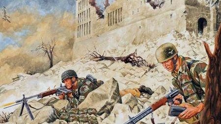 数万盟军被3000德国伞兵挡了四个月?探秘二战卡西诺山地之战