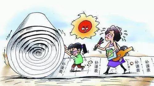 暑假来了,中国学生在疯狂上补习班,美国学生都在干?#21486;? title=
