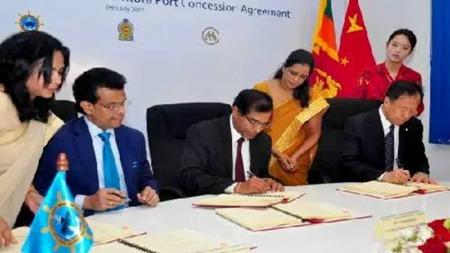 中国成功收购汉班托塔港,为何印度和新加坡却不高兴了?
