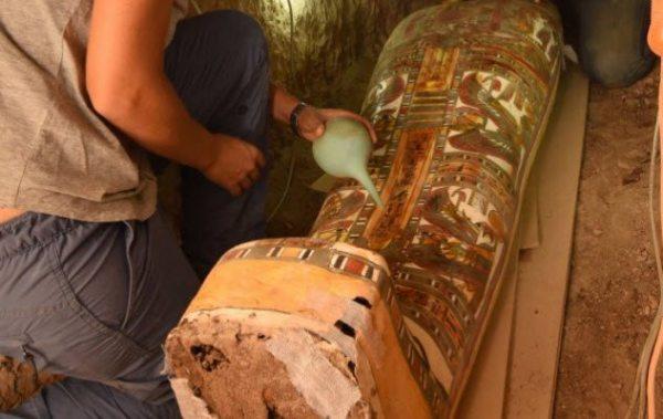 尼罗河坟墓附近那些罕见发现