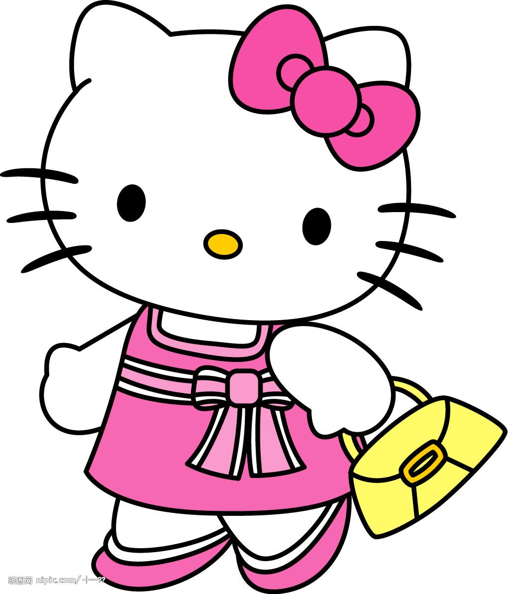 kt猫卡通图片_谁有KT猫卡通图片?_百度知道