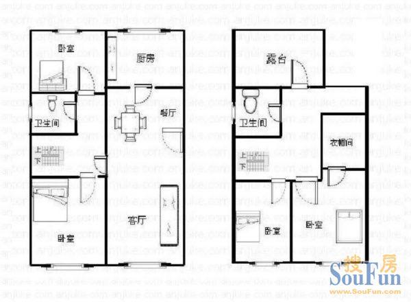 七十平方房子平面設計圖