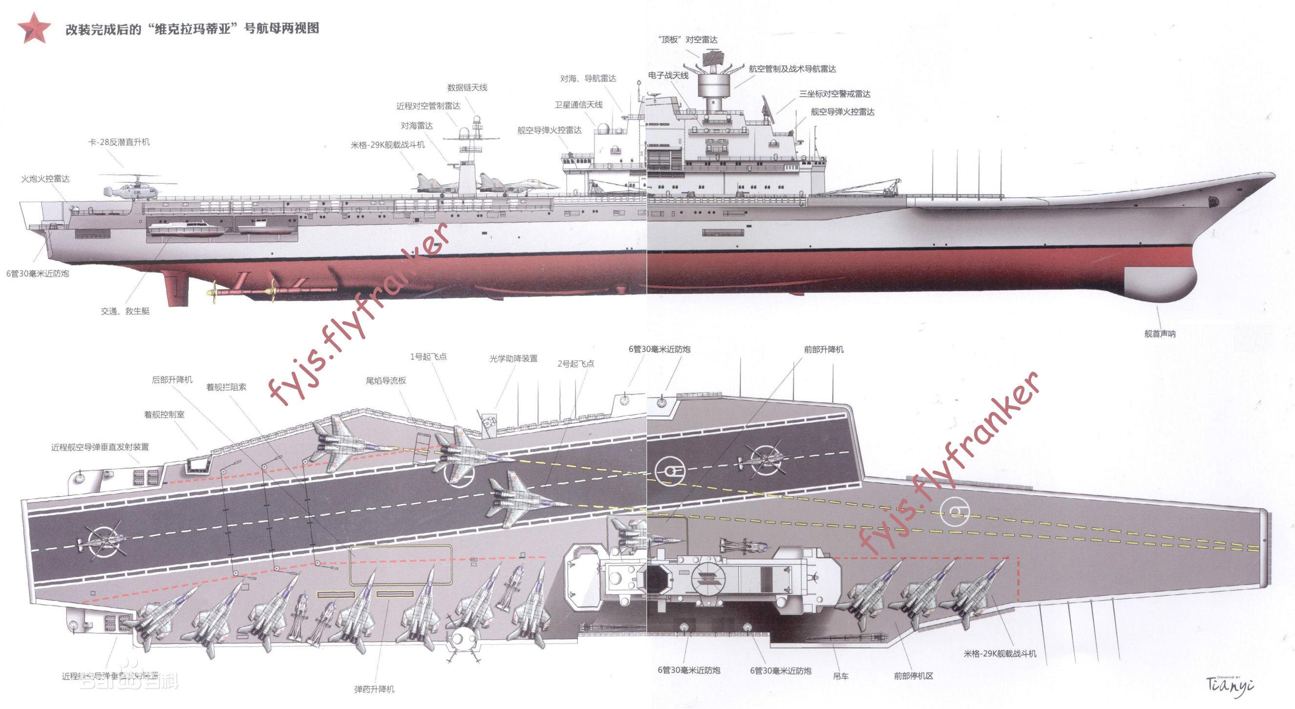 印度维克拉玛蒂亚号_印度维克拉玛蒂亚号航母的舰岛位置怎么这么靠中间?太不合理 ...