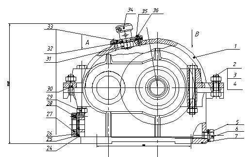 一级减速器夹具图_一级减速器CAD的装配图_百度知道