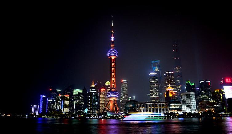 描写上海的文艺句子