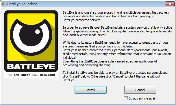 方舟生存进化Steam开始游戏出现BattlEye Launcher 文件_百度知道