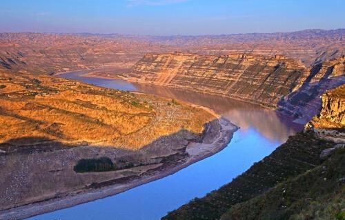 孕育中华文明的黄河_为什么说黄河是中国古老文明的发源地_百度知道