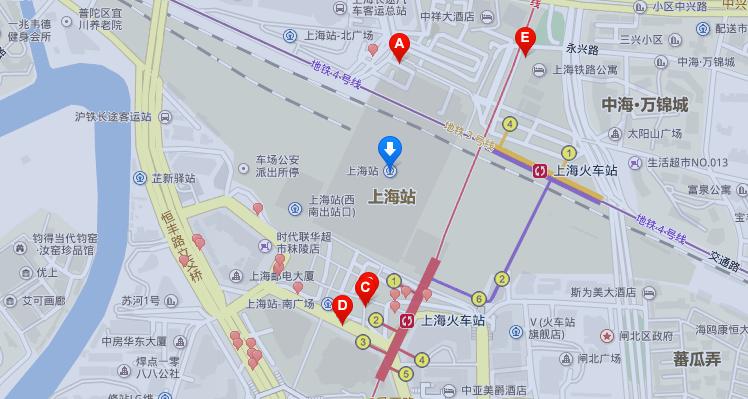 上海市闸北区秣陵路_去上海火车站怎么走_百度知道
