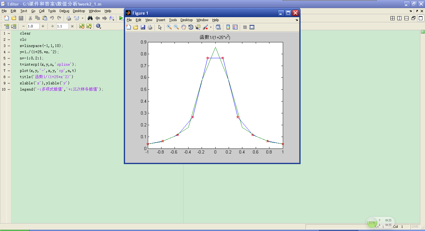 how to change the legend in matlab